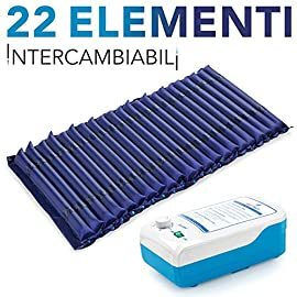 AIESI-Colchn-Antiescaras-de-elementos-intercambiables-con-compresor-ajustable-de-ciclo-alterno-DOCTOR-MATTPLUS-22-elementos-Capacidad-150-Kg-Silencioso-Garanta-24-meses