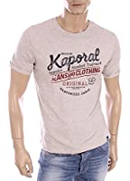 tee shirt kaporal 5 feel gris