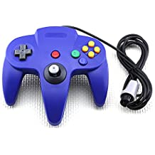 Classic Wired Long Handle Gaming Controller for Nintendo 64 N64 Game Console-Blue [Importación Inglesa]