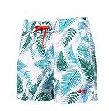 AQUAWAVE Damen Tunis Wmsn Shorts, White Tropic Print, L