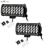 Best Led Light Bars - AllExtreme EX24FW2 24 LED Fog Light Bar 7.5 Review