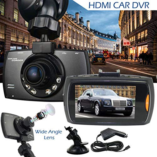 jezmiSy, Auto-DVR, Fahren-Recorder, 2,4 Zoll HD 1080P in der Fahrzeugkamera Road Dash Night Vision