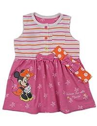 b1db68eca49b2 Disney Baby Girls Minnie Mouse Sleeveless Dress Headband Set NB to 18-24M  Pink