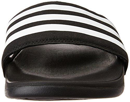 adidas Adilette Supercloud Plus, Sandales de Sport Homme Noir (Core Black/White/Core Black)