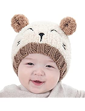 Babybekleidung Hüte & Mützen Sannysis Baby Mädchen Jungen Wintermütze Baumwollemütze Unisex Baby Winter Hüte Strick...