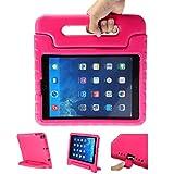 LEADSTAR Kinder Schutzhülle für iPad 9.7 2017 2018, Kinderfreundlich Kinder Schutz Hülle EVA Case Leichte Stoßfeste Schutzhülle Tasche für Apple iPad Air / iPad Air2 / iPad 9.7 2017 2018 (Rosa)