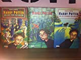 Harry Potter Band 1 - 3 (Harry Potter und der Stein der Weisen + Harry Potter und die Kammer des Schreckens + Harry Potter und der Gefangene von Askaban)