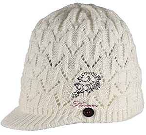 Sinner Pebble Hat - White, One Size
