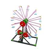 YeahiBaby Riesenrad Spielzeug DIY Handgemacht Konstruktionsbaukasten Pädagogisches Spielzeug für Kinder