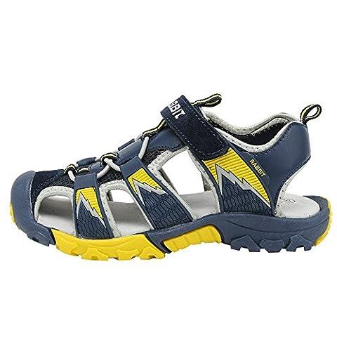 Sandale Enfant - D'été Ultraléger Sandales Coloré Plates Respirant Outdoor