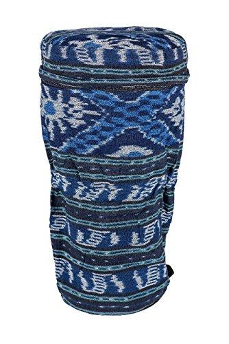 Ciffre Große 50cm x 25cm Djembe Trommel Tasche Batik Handarbeit Bongo Reisverschluss