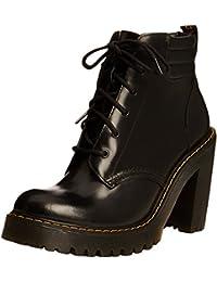 Dr. Martens Persephone Buttero/Pu Black, chaussures bateau femme