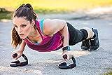 #1: Trendy Push-Up Stands Strength training Equipment ( Black Orange Color )