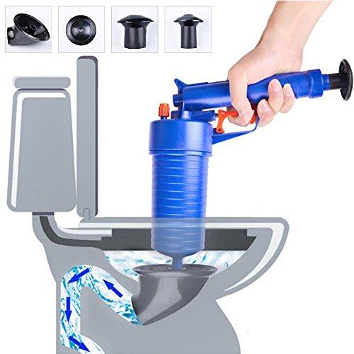 SHUAIGUO Toilet Plunger, Küche Toilette Abflussrohre Spülen Air Power Blaster Cleaner Plunger WC Badezimmer Zubehör