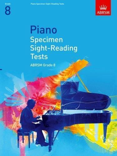 Piano Specimen Sight-Reading Tests, Grade 8: Grade 8 (Abrsm Sight-Reading) by ABRSM (2008) Sheet music