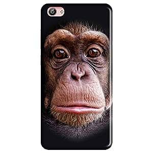 Mobo Monkey Designer Printed Back Case Cover for Vivo X7 Plus (King Kong :: Kingkong :: Chimpanzee :: 3D :: Hollywood)