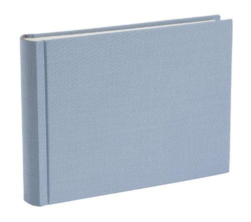 Semikolon Fotoalbum, gebundenes Leinen, klein, Ciel Sky Blue, Größe S
