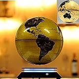 Levitación magnética Globo flotante con base de levitación magnética iluminada, (globo con sistema de imán) , B