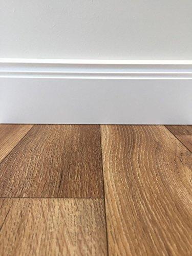 PVC-Boden Classic Holzoptik Nussbaum | Muster | Vinylboden versch. Farben & Längen | Fußbodenheizung geeignet | Platten strapazierfähig & pflegeleicht | robuster, rutschhemmender Fußboden-Belag -