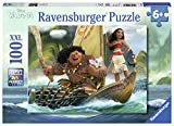 Ravensburger - 10943 - Puzzle Vaiana et Maui 100 pièces