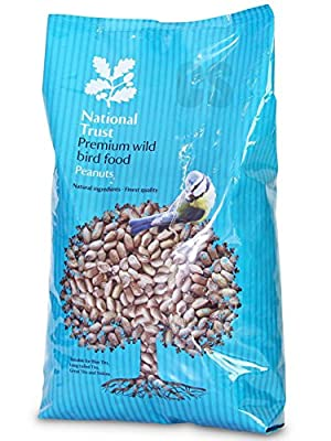 National Trust Wild Bird Food Premium Peanuts 12.75kg by National Trust Bird Foods