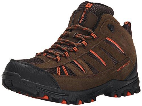 Columbia Pisgah Peak Mid Waterproof Unisex-Kinder Trekking & Wanderhalbschuhe, Braun (Mud 255), 35 EU, BY3234