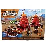 Ingenious Toys Cowboys und Indianer / Comanche Kaminofen Assault/Baukasten #B5636