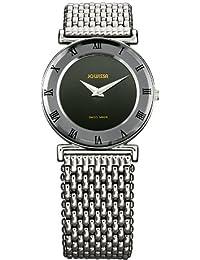 Jowissa J2.007.M - Reloj analógico de cuarzo para mujer con correa de acero inoxidable, color plateado