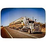 Cama Perro Garage Diseño Tren carretera Australia impreso 40x60 cm