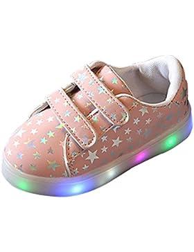 BOZEVON LED Sportive Bambino Scarpe Scarpe Luminosi Sneakers Luce Bright Lampeggiante Scarpe