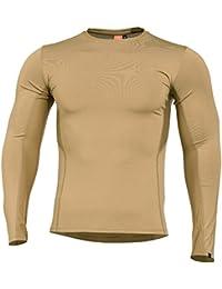 Pentagon Hombres Apollo Tac Fresh Actividad Camiseta Coyote