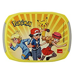 Jaypee Plus Story Box Jr. Plastic Lunch Box Set, 4-Pieces, Yellow