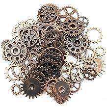 SSEELL , Ingranaggi in rame rosso, da orologio, accessori per gioielli  realizzati da sé