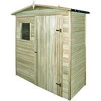 vidaXL Abri de Stockage pour Jardin Pin Imprégné 200x100x210cm Cabane à  Outils 734ac344a158