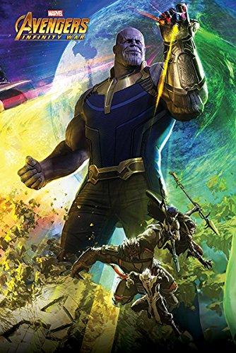 Close Up Avengers Infinity War Poster Thanos (61cm x 91,5cm)