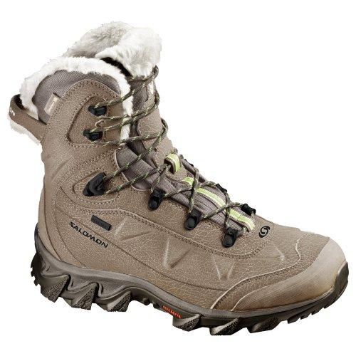 Salomon Nytro Gtx W, Chaussures de randonnée femme - Beige (Sand/Marjoram/Swamp)