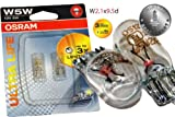 Original OSRAM 1 - Set T10 W5W 12V 5W ULTRA LIFE Soffitte Standlicht Parklicht Scheinwerfer PREMIUM - NEU - / Volkswagen - VW - Nissan - OHNE FEHLERMELDUNG - StVO Zugelassen