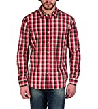 Enryca Men's Casual Shirt(ENMSH 0102RED ...