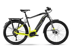 Haibike SDURO Trekking 9.0 Herren E-Bike 500Wh E-Trekkingrad titan/lime/schwarz / RH 48 cm / 28 Zoll