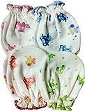 #10: Fancyadda New Born Baby Soft Cotton Mittens Pack of 4