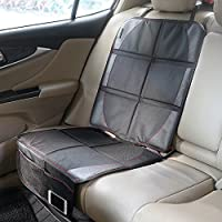 iRegro Protector de asiento de coche- la mejor protección para los asientos de los coches del niño y del bebé, estera del perro - la cubierta protege la tapicería del cuero o del paño del vehículo automotor, satisfacción 100% garantizada!