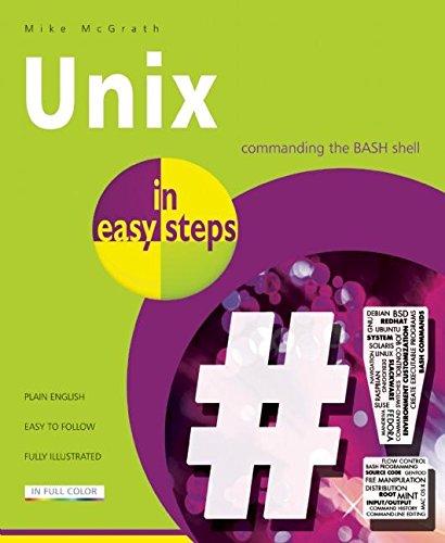 Unix in easy steps par Mike McGrath