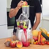 Centrifuga per Frutta e verdura in pressato a freddo, Estrattore di siringa con canale XL per frutta Entera, cecojuicer Pro di Cecotec, Frullatore Xl)