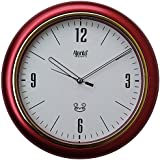 [Sponsored]Ajanta Wall Clock For Home And Office(Red)