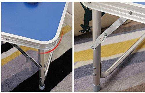 Scrivania Ufficio Blu : Tavolo pieghevole portatile home mobili per ufficio lettino