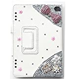 EVTECH (TM) 3D Handmade Bling Fall für LG G Pad 10.1 Smart-Shell Case - Ultra Slim Abdeckung mit Auto Sleep / Wake-Funktion für LG G Pad V700 10,1-Zoll-Android-Tablet