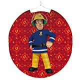 Feuerwehrmann Sam - Kinder Laterne Lampion rund 25cm