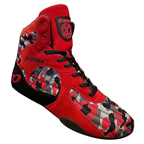Otomix STINGRAY ESCAPE Fitness Bodybuilding Schuhe - Red Camo / Rot (43 EU) -