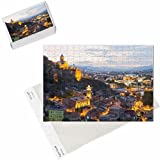 Photo Jigsaw Puzzle of Tbilisi at night, Georgia, Caucasus, Asia