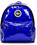 Hype Backpack Bags Rucksack - Blue Holographic Design - Ideal School Bags - For Boys and Girls - Blue Holographic